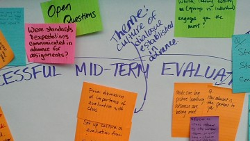 Event Re-Cap: Midterm Evaluations of Teaching, Challenges and Opportunities